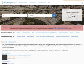 thecityofdallas.com screenshot