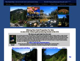 theclaimpost.homestead.com screenshot