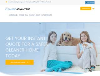thecleaningadvantage.com screenshot