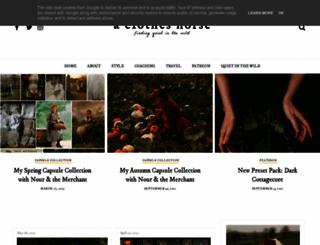 theclothes.blogspot.fr screenshot