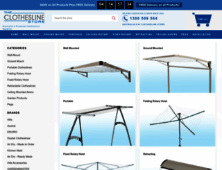 theclotheslinestore.com.au screenshot
