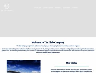 theclubcompany.com screenshot