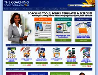 thecoachingtoolscompany.com screenshot