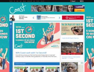 thecoast.net.nz screenshot