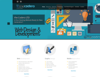 thecodero.com screenshot