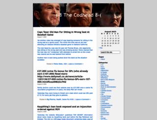 thecodhead.wordpress.com screenshot