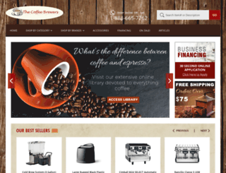 thecoffeebrewers.com screenshot