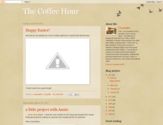 thecoffeehour.blogspot.com screenshot