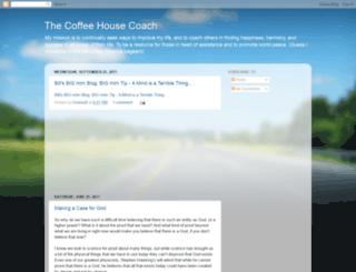 thecoffeehousecoach.blogspot.com screenshot