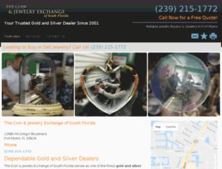 thecoinandjewelryexchange.net screenshot