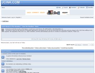 thecoldones.b1.jcink.com screenshot