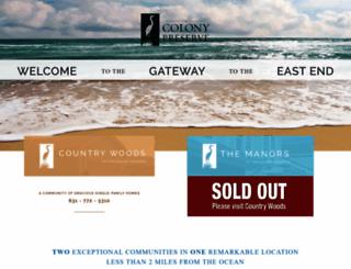 thecolonypreserve.com screenshot