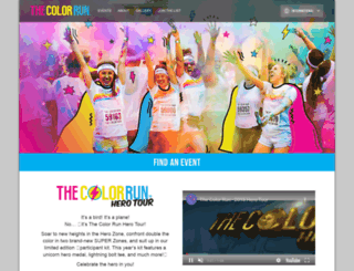 thecolorrun.co.kr screenshot