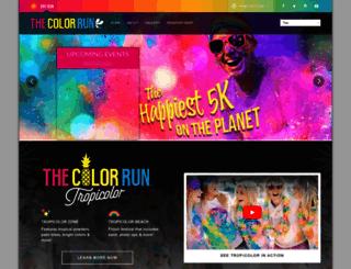 thecolorrun.co.th screenshot