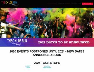 thecolorrun.co.uk screenshot