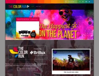 thecolorrun.de screenshot