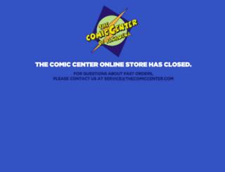 thecomiccenter.com screenshot