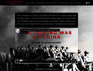 thecomingwarmovie.com screenshot