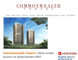 thecommonwealthtowers.com screenshot