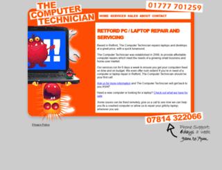 thecomputertechnician.co.uk screenshot