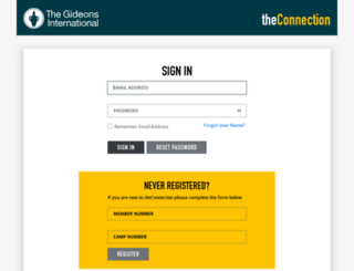 theconnection.gideons.org screenshot
