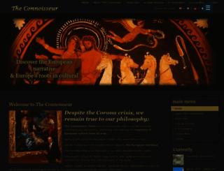 theconnoisseur.eu screenshot