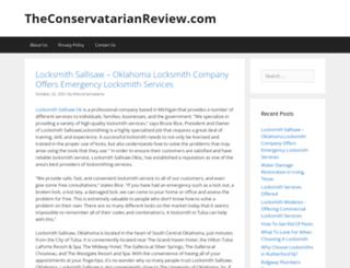 theconservatarianreview.com screenshot