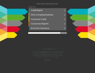 theconsumerfactor.com screenshot