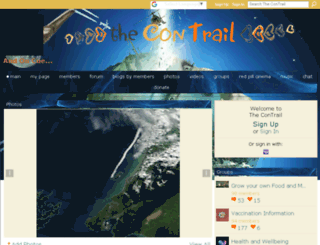 thecontrail.com screenshot