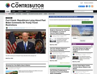thecontributor.com screenshot