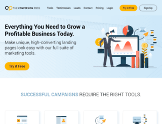 theconversionpros.com screenshot