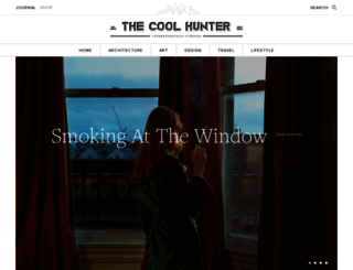 thecoolhunter.net screenshot