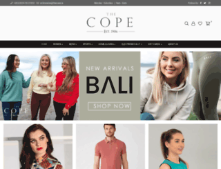thecope.ie screenshot