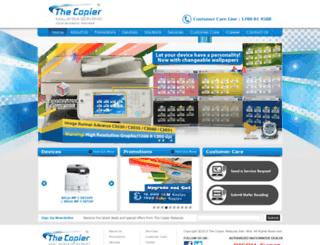 thecopier.com.my screenshot