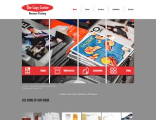 thecopycentre.co.za screenshot