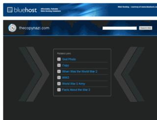 thecopynazi.com screenshot