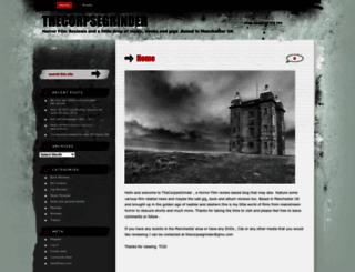 thecorpsegrinder.wordpress.com screenshot