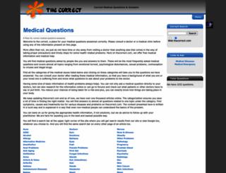 thecorrect.com screenshot
