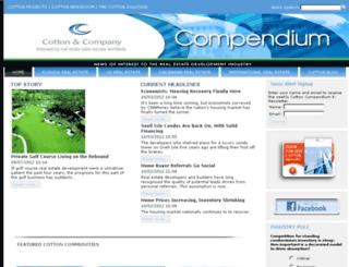 thecottoncompendium.com screenshot