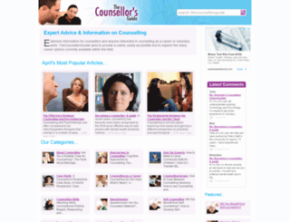thecounsellorsguide.co.uk screenshot