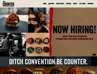 thecounter.com screenshot
