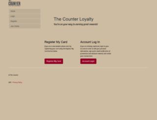 thecounter.myguestaccount.com screenshot