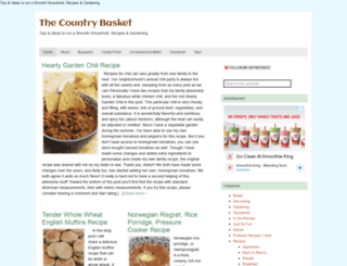 thecountrybasket.com screenshot