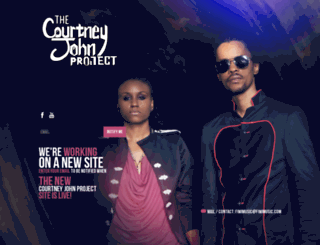 thecourtneyjohnproject.com screenshot