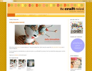 thecraftrevival-magdalena.blogspot.com screenshot