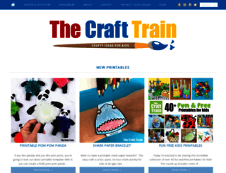 thecrafttrain.com screenshot