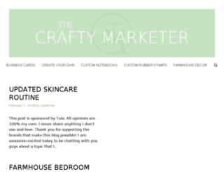 thecraftymarketer.com screenshot