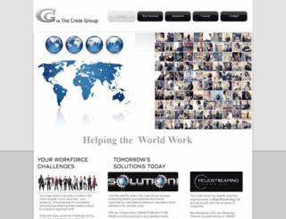 thecrategroup.com screenshot