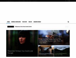 thecrazyfacts.com screenshot