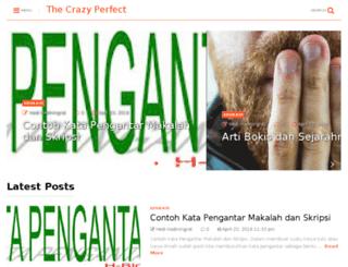 thecrazyperfect.com screenshot